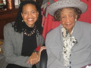 Dr. Dorothy Height and Blanche Williams, First Annual National Black Women's Town Hall, 2009
