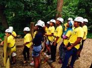 Outdoor adventures. Team Building Activity.