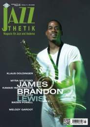 James Brandon Lewis, Cover Photo and property of 'Jazz Thetik'