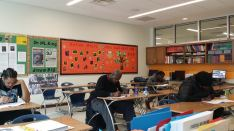 Ballou S.T.A.Y. students testing