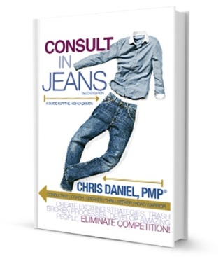 "Debut Book ""Consult In Jeans"""